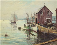 rockport docks by william a. couper