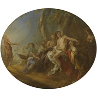 diana and actaeon by françois lemoyne