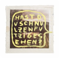 hast du schnulzenfutzi gesehen? (have you seen swooner crooner?) by martin kippenberger