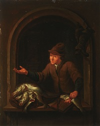 the fish seller by louis de moni