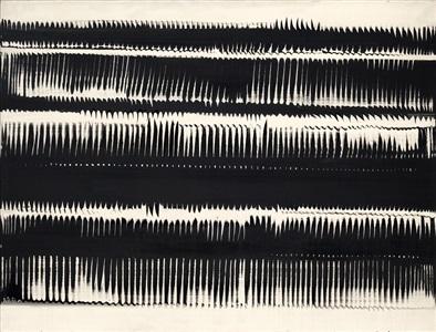 dynamische strukturen in schwarz by heinz mack