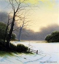 hunter's silent dawn by m.j. hill