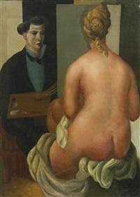 le peintre et son modèle by roger bissière