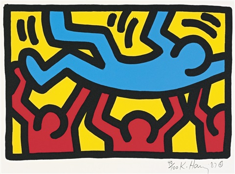 untitled 4 works by keith haring