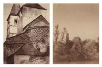 ensemble de quatre tirages albuminés (4 works) by charles (ph) lenormand