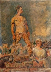 the laborer by leopold pilichowski