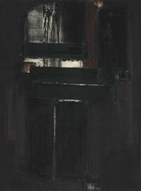 peinture 81 x 60 cm by pierre soulages