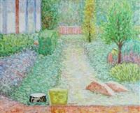 succulent garden, montecito, ca by edna reindel
