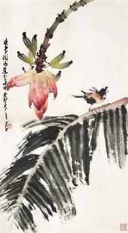 芭蕉小鸟 by zhao shaoang