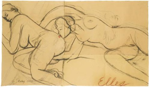 elles by ronald brooks kitaj