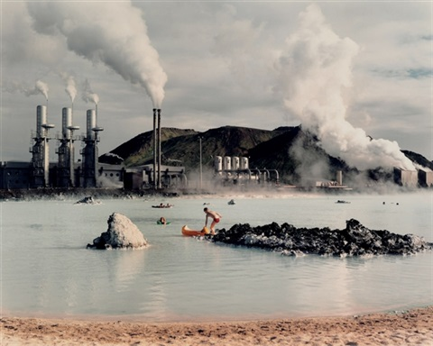 the blue lagoon svartsengi goethermal pumping station iceland by virginia beahan laura mcphee