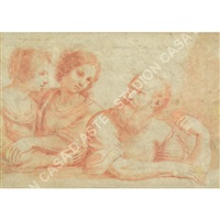 loth e le figlie by guercino