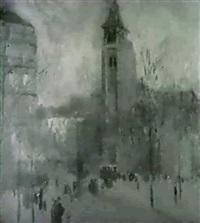 st. germain-des-pres, paris by frank edwin scott