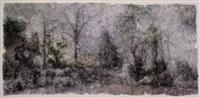 scene • domain by xiao fangkai