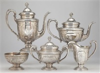 service in louis xiv pattern (set of 5) by towle silver