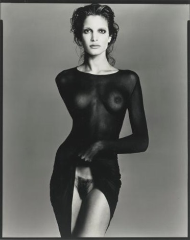 stephanie seymour model by richard avedon