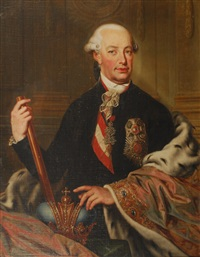 portrait de léopold ii empereur du saint-empire (1747-1792) by austrian school (18)