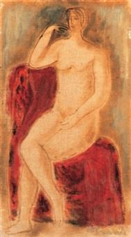 akt (nude) by jenö gadányi