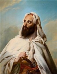 biblical figure by ludwig deutsch