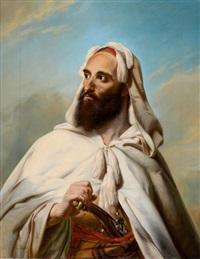 biblical figure by ludwig deutsch