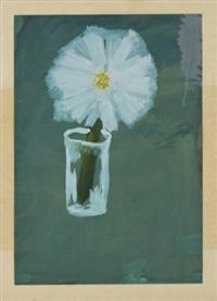 still life with flower in a glass by vladimir yakovlev