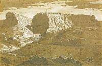 vue des gorges du rummel constantine by emmanuel joseph lauret