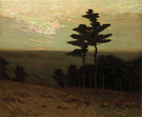 dusk by charles warren eaton