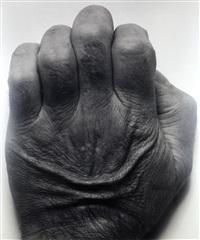 self portrait (back of hand) by john coplans