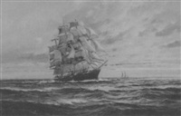 clipper ship by william knox
