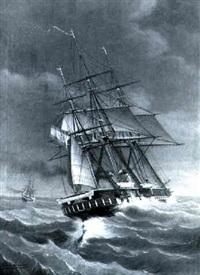 captura del vapor tornado por la fragata de guerra