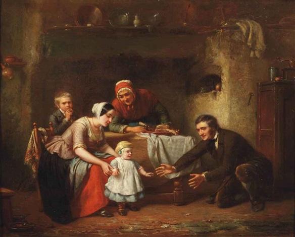 babys first steps by theodore bernard de heuvel
