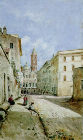 roma via merulana a santa maria maggiore by daniele bucciarelli