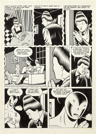 el borbah from ice age by charles burns