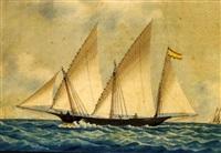 the spanish trading xebec