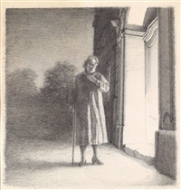 ohne titel (from der mann) by gottfried helnwein