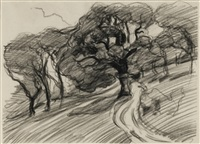 LANDSCAPE WITH TREES, 1896