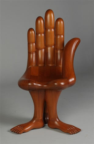 Hand U0026 3 Feet Chair By Pedro Friedeberg
