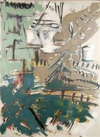 composition abstraite by roger van haardt