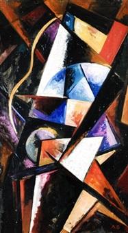 suprematistische komposition by alexander vesnin