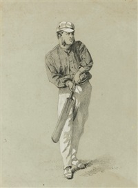 the batsman by george frederick (sir) hodson