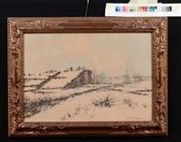 inverno in val d'ossola by giovan battista zaccaria