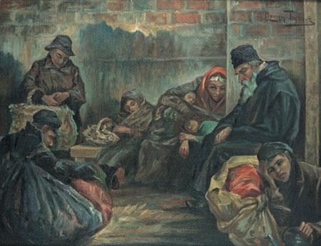 refugees by maurycy trebacz