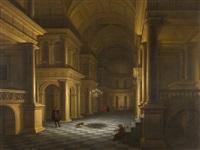 das innere einer renaissancekirche by hendrick van steenwyck the younger