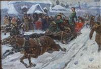 l'hiver russe by vladimir nikolaevitch aralov