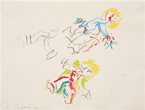 composition for lisa by willem de kooning