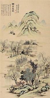 湖庄春晓 (landscape) by xu zhao