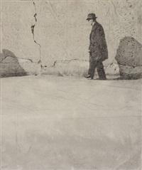 le passant (le mur de sartre) by jean batail