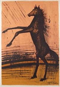 le cheval by bernard buffet