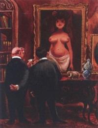 notice how the eyes follow you around the room by eldon dedini