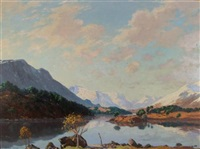 on the banks of a highland loch by william douglas macleod